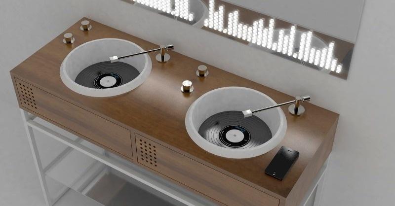 Különleges, zenélő mosdó – ilyet még biztos nem láttál!