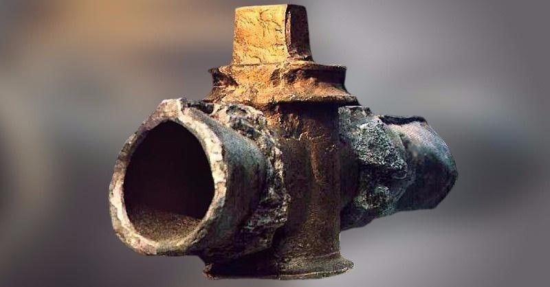 2000 éves római kori bronz vízcsap Pompeii-ből