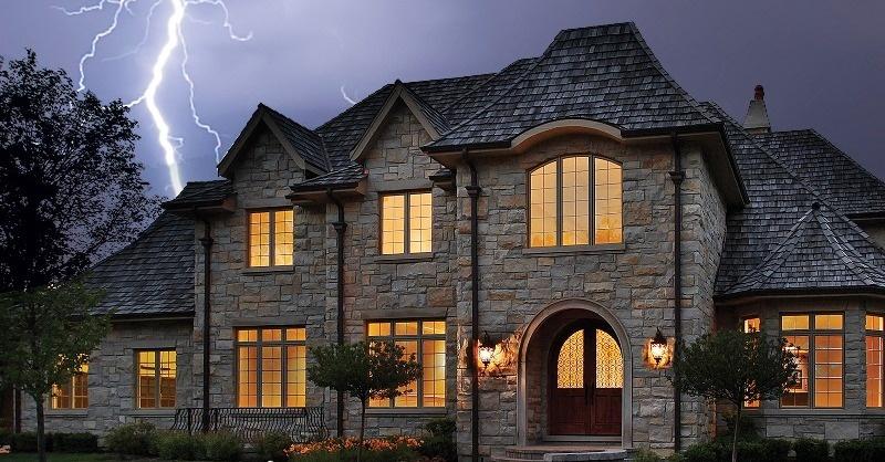 Szereti-e a villám a családi házakat?