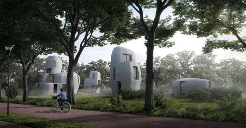 Már épülnek a világ első 3D-nyomtatós házai